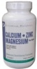Calcium / Zinc / Magnesium Plus Copper (Universal Nutrition)